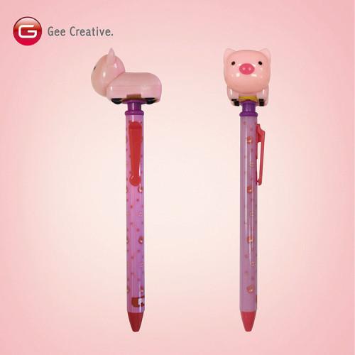 小豬迴力車筆 2