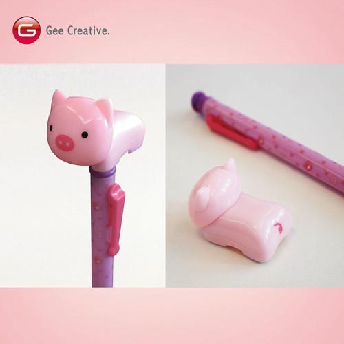 小豬迴力車筆 3
