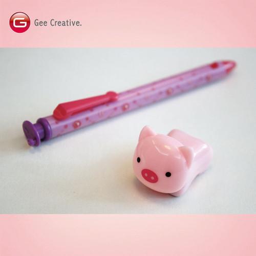 小豬迴力車筆 4