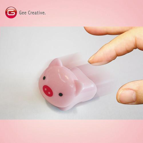 小豬迴力車筆 5