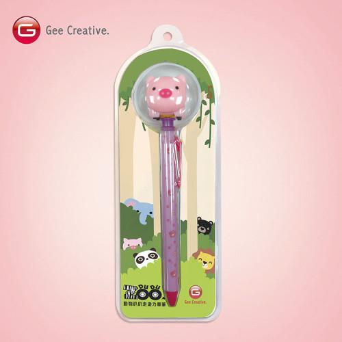 小豬迴力車筆 1