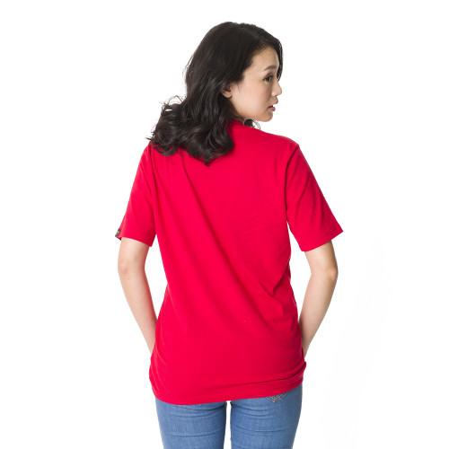 短袖T恤模特兒照-綠袍2