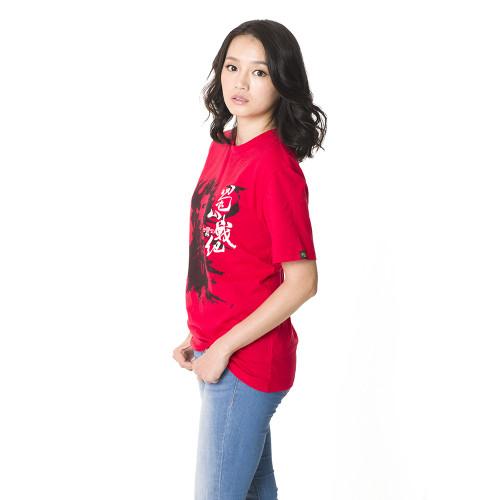 短袖T恤模特兒照-綠袍3